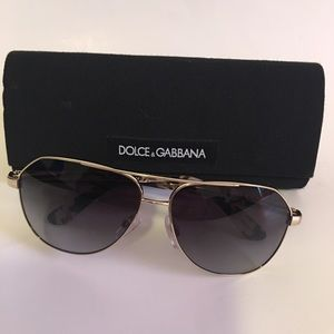 Unisex Dolce & Gabbana DG 2144  Sunglasses 488/8G